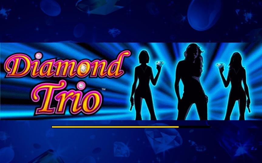 Коэффициенты комбинаций автомата Diamond Trio из GMS Deluxe