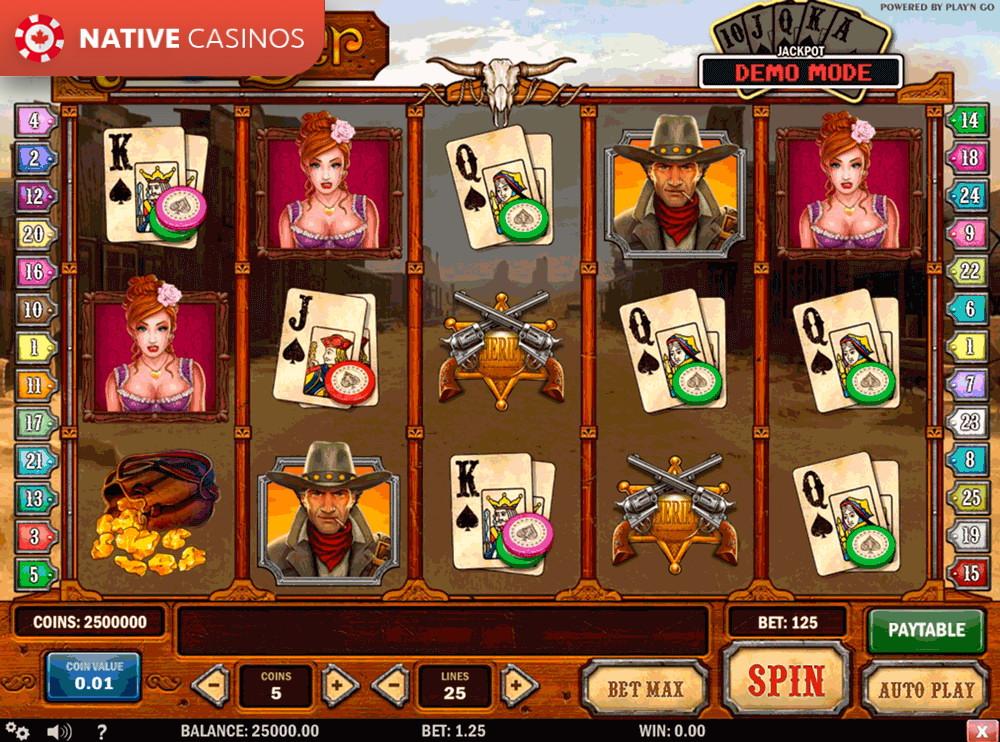 Популярный игровой слот Gunslinger от Рокс Казино