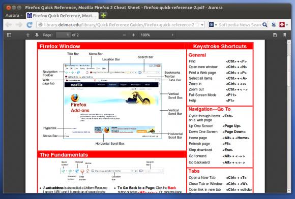 В Aurora-версии Firefox 15 появится интегрированное средство для просмотра PDF