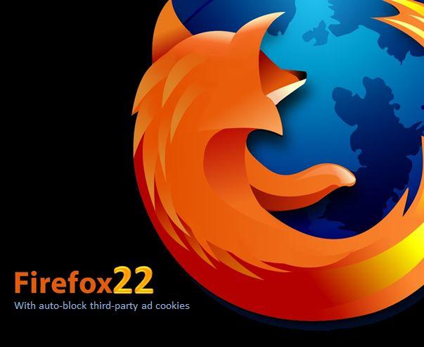 В превью-версии Firefox 22 появилась функция блокирования cookie сторонних источников