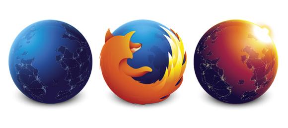 Mozilla обновила логотип Firefox в каналах Aurora и Nightly