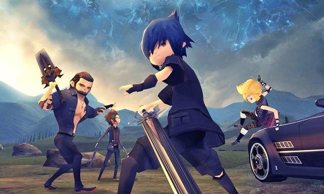 «Final Fantasy XV: Pocket Edition» выйдет в свет 9 февраля