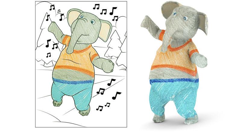 #видео дня | Disney придумала трехмерные книжки-раскраски