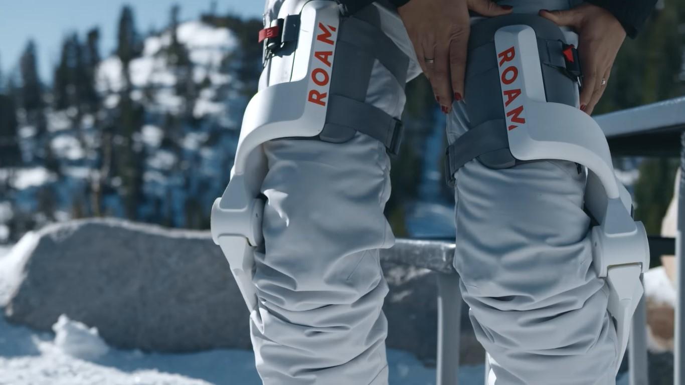 Этот лыжный экзоскелет предназначен для снятия напряжения с ваших ног