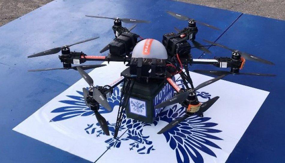 Первый беспилотный летательный аппарат «Почты России» потерпел крушение