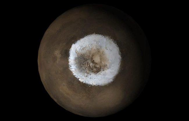 Под поверхностью Марса может быть достаточно кислорода для жизни