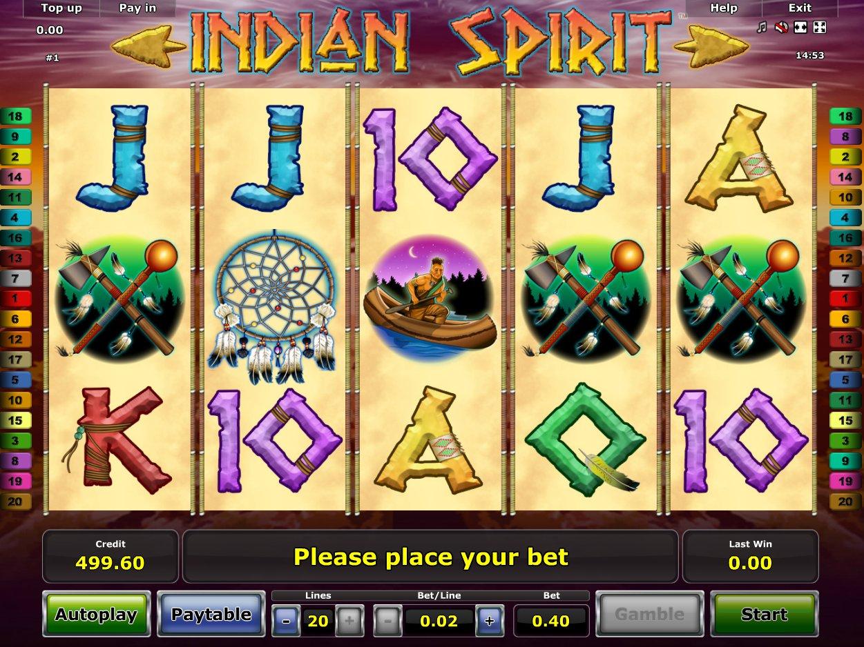 Игровые автоматы Вулкан: Indian Spirit