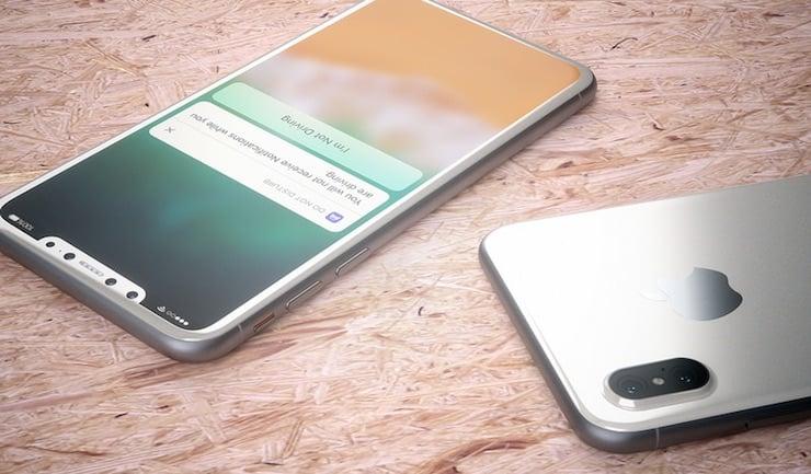 Какими возможностями будет обладать iPhone 8?