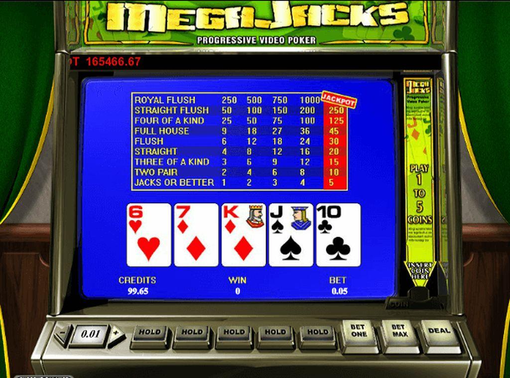 Videopoker – покерный игровой слот от Рокс Казино