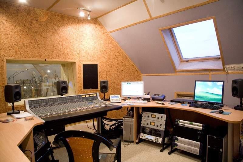 Открытие домашней студии звукозаписи