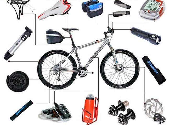 Виды велоаксессуаров и особенности выбора
