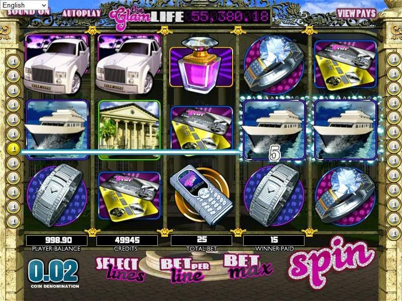 The Glam Life – игровой аппарат от Rox о роскошной жизни