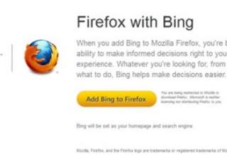 Появился Firefox с поиском от Microsoft