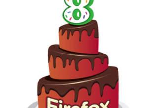 Браузер Firefox празднует свое восьмилетие
