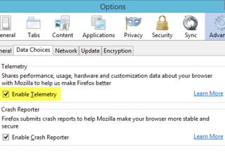 Вопреки заявлениям Mozilla функция Telemetry не анонимна