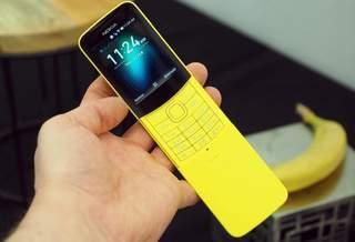 В Украине стартовали продажи «бананофона» Nokia 8110