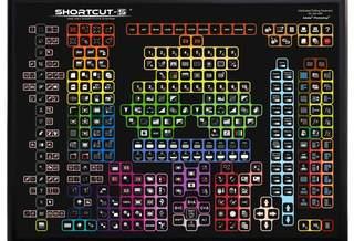 Shortcut-S – монструозная клавиатура для графических дизайнеров