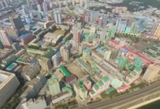 Посмотрите первое в мире видео в 360 градусов, снятое в небе над Северной Кореей