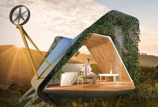 Как выглядят дома будущего для дачных участков технологической элиты