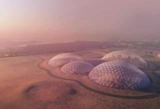 Полусферы — лучшее жильё для Марса