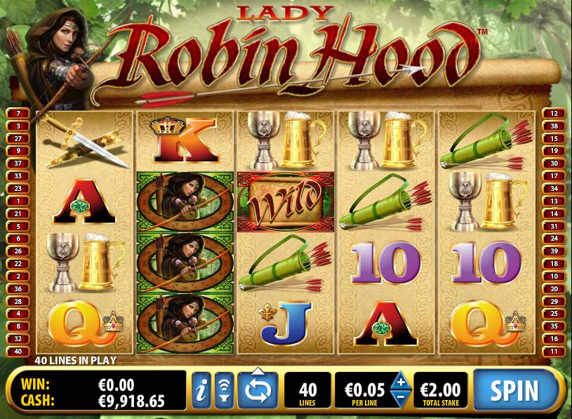 Robin Hood – аппарат GMS Deluxe для любителей приключений
