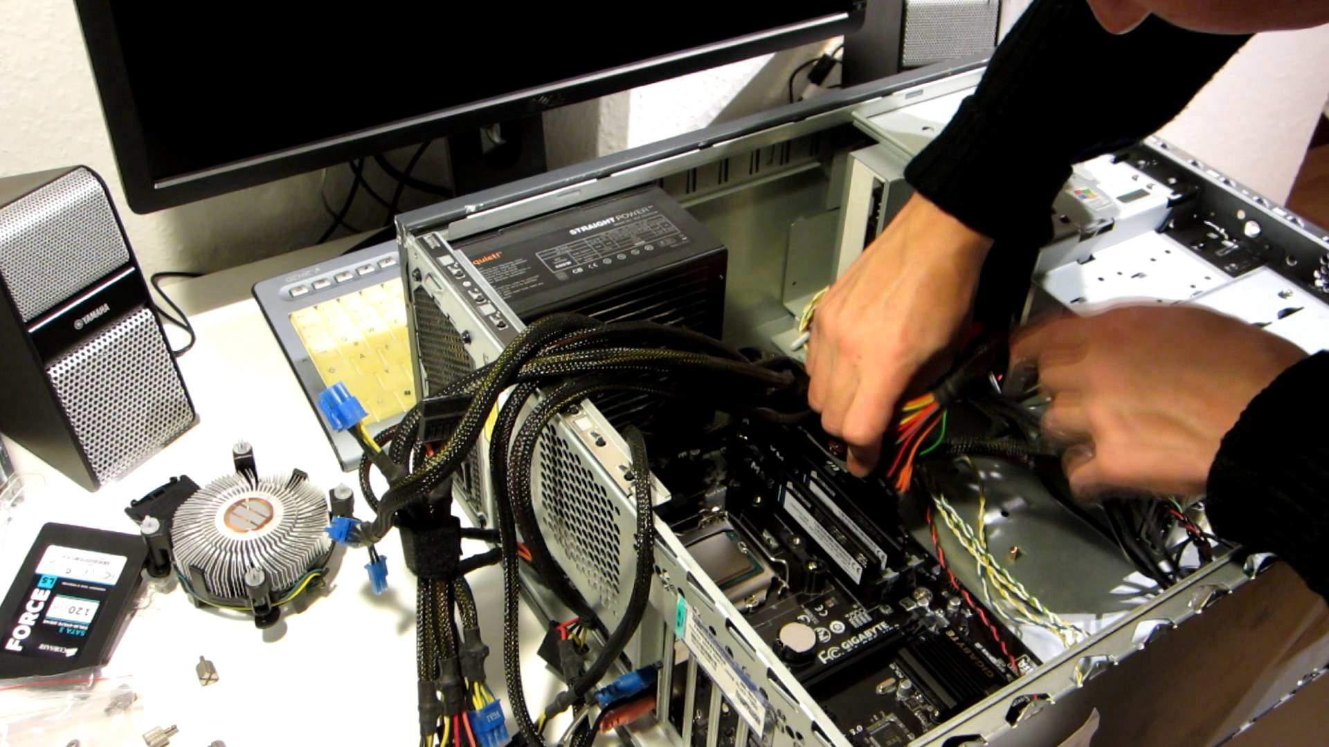 Основные рекомендации по самостоятельной сборке компьютера