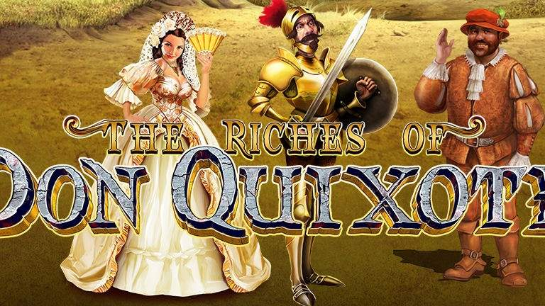 Символика и настройка игры The Riches of Don Quixote с сайта Вулкан