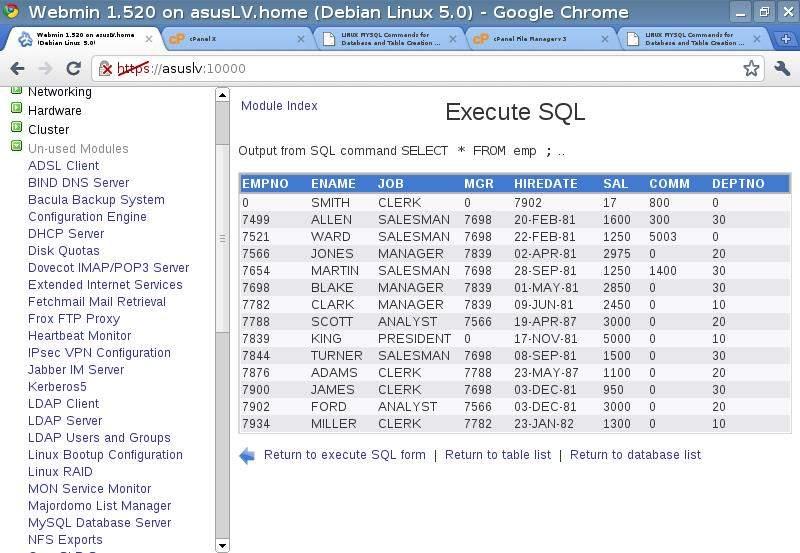 Базы данных MySQL