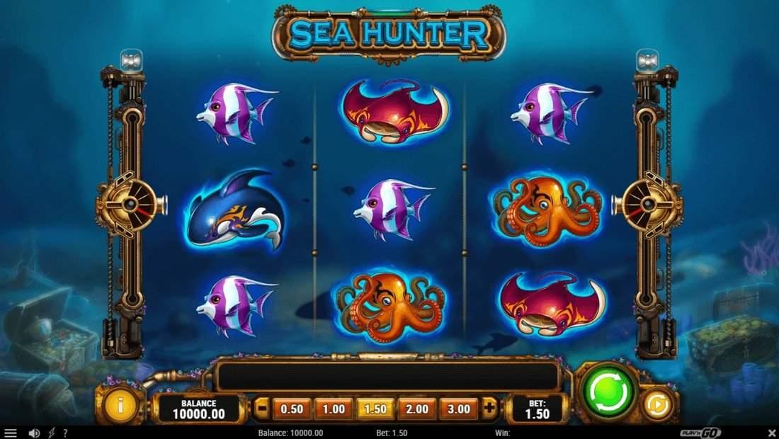 Обзор игрового аппарата Sea Hunter от fresh