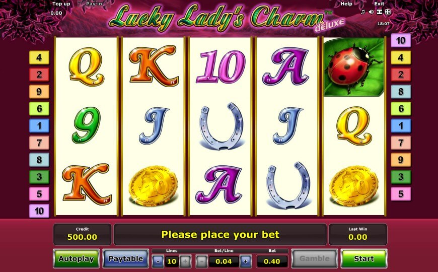 Lucky Lady's Charm – игровой слот о волшебном месте