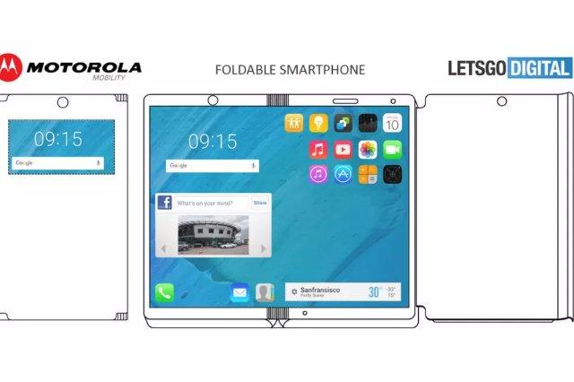 Патент Motorola показывает складной телефон с корпусом, который может удваиваться как беспроводное зарядное устройство