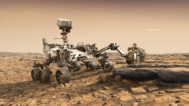 НАСА и ЕКА хотят вернуть образцы почвы Марса на Землю