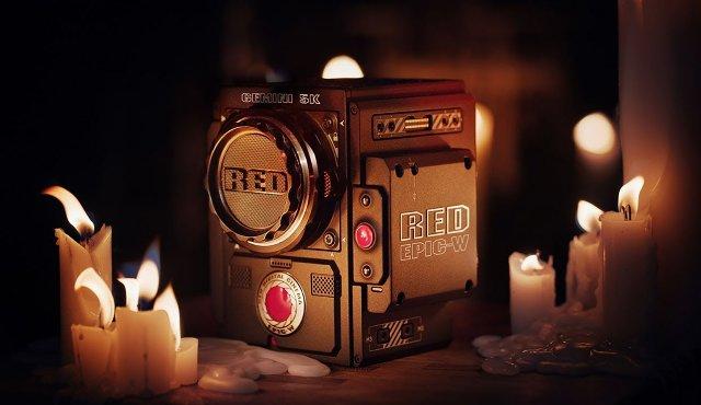 RED показывает датчик камеры 5K, предназначенный для космического пространства