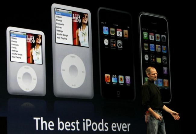 Apple представит новый iPod Touch Retina в сентябре