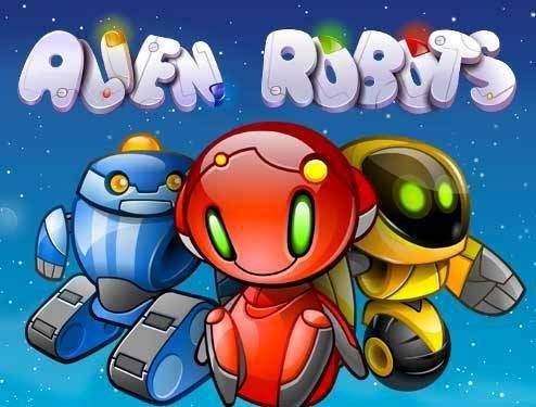 Основные элементы игры Alien Robots с сайта Vulkan