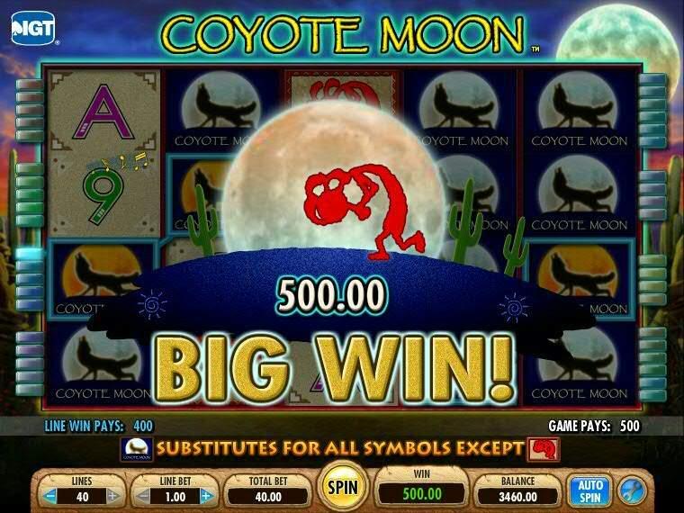 Игровой слот Coyote Moon от Вулкан