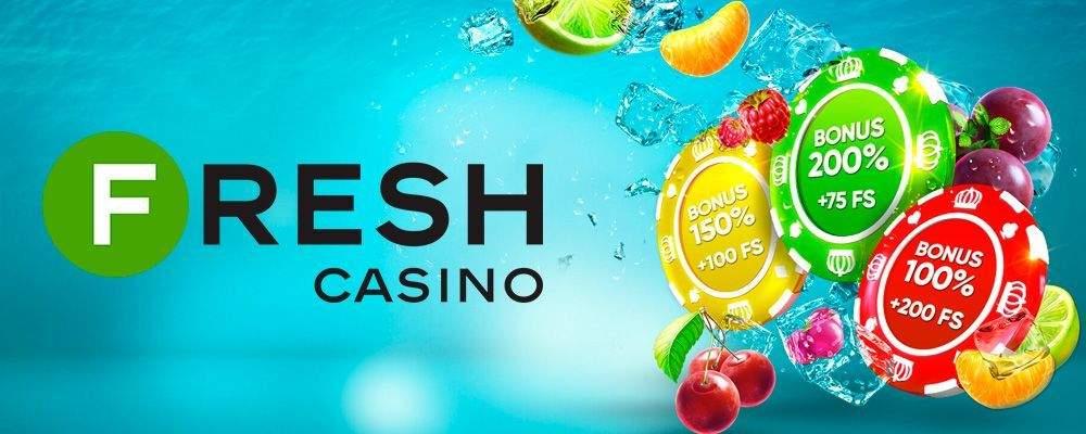 Официальный сайт Фреш казино