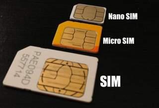 Разновидности современных SIM-карт