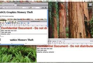 В версии WebGL для Firefox найдена уязвимость, позволяющая воровать изображения