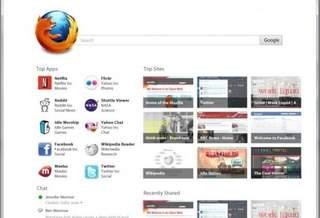 Mozilla модернизирует домашнюю страницу Firefox 12