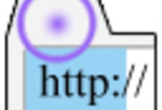 Focus URL By Double Click
