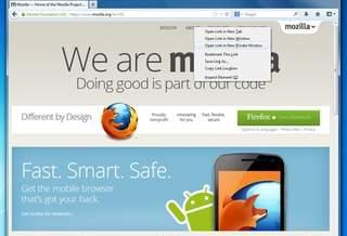 Приватный режим в отдельном окне интернет-браузера Firefox