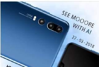 Новые утечки показывают тройную ИИ-камеру на предстоящем флагмане P20 от Huawei