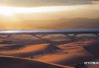 Hyperloop TT планирует построить рабочую линию в Абу-Даби в 2019 году