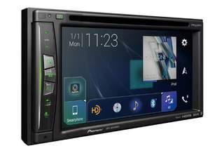 Pioneer дебютирует с тремя новыми беспроводными дисплеями в системах CarPlay