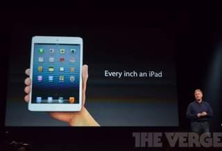В ходе анонса 7,9-дюймового планшета iPad Mini Apple посмеялась над Google Nexus 7