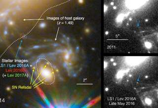 Космический телескоп Хаббла обнаруживает самую дальнюю известную звезду