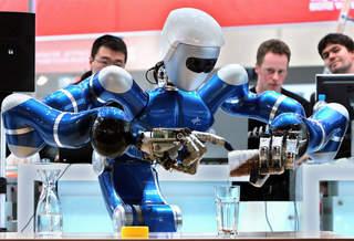 Подобные роботы однажды займутся строительством марсианской колонии