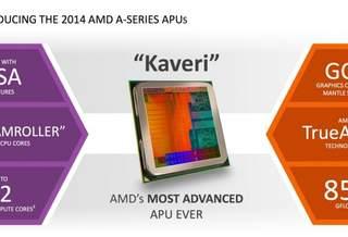 #CES | AMD официально представила Kaveri — APU нового поколения