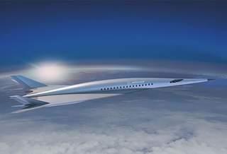 Компания Boeing представила концепт гиперзвукового пассажирского самолета
